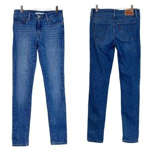 Levi's • 711 Skinny Mid Rise Ankle Jeans • 27